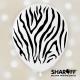 Воздушный шар (12'' 30 cм) Сафари, дикие животные Пастель