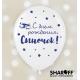 Воздушный шар (12'' 30 cм) С днём рождения, сыночек, 50 шт. 2