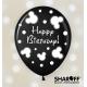 Воздушный шар (12'' 30 cм) Happy Birthday, Mickey style, микс
