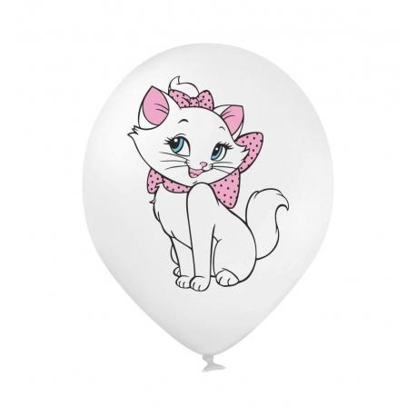 Воздушный шарик (B105, 30 cм), кошечка Мери 3 цвета 25 шт. 1 ст.