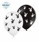 Воздушный шарик (B105,  30 cм), playboy микс 25  шт. 5 ст. арт. 258-0177